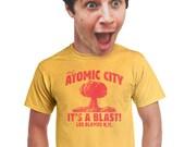 Atomic City shirt new mexico shirt funny NM area 51 tourist tourism t-shirt i love albuquerque los alamos hilarious tees unisex t-shirt