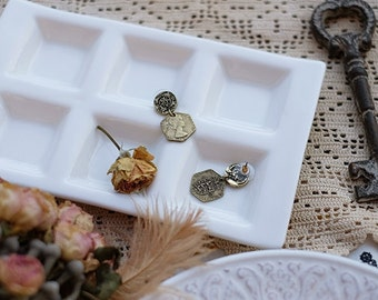Copy antique coin series earrings --three