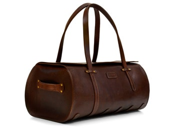 Duffel Bag // Leather carry-on // Cabin Luggage