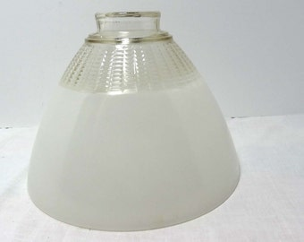 Clear and Frosted Glass Lamp Shade Motif Home and Garden Lighting Lighting Accessories Lamp Shades