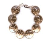 1966 Penny Coin Bracelet 50th Birthday Gift Jewelry 1966 50th Anniversary Gift Women