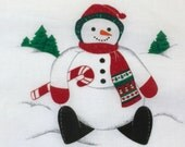 Cranston VIP Christmas Fabric Panel The Roly-Poly Snowman, Cut and Sew, Snowman Panel, Snowman Fabric, DIY Snowman Doll, Snowman Material