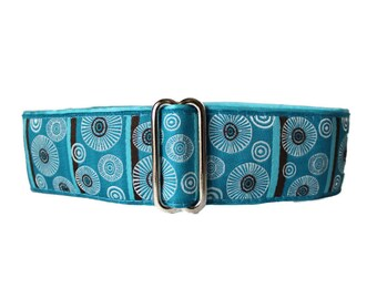 1.5 inch Martingale Collar, Jacquard Martingale Collar, Martingale Collar Greyhound, Martingale Collars Made in Canada