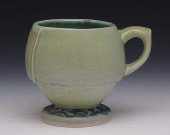 Matt Porcelain Ceramic Rounded Coffee Mug