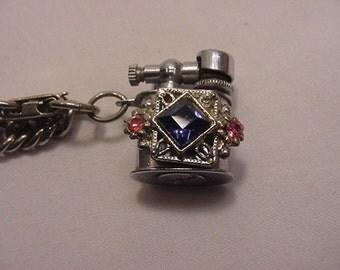 Vintage Bracelet With A Tiny Working Lighter   16 - 3
