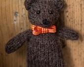 Bevan Bear knitting pattern