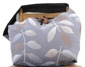 BLUE CROSSBODY BAG - Hobo Bag - Large Bag - Bohemian Bag - Hobo Bag - Slouch Bag - Sling Bag - Crossbody Bag - Across the Body Bag