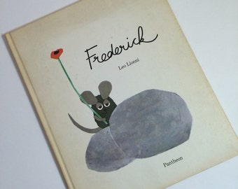 Vintage Book - Frederick by Leo Lionni 1967