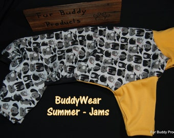 """Sale 20.5"""" Whippet Size Summer Jams for the Hounds and all dogs of similar size."""