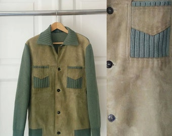 Vintage Men's Suede Jacket