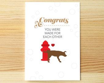 Marriage Fire Hydrant & Dog