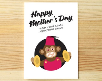 Mother's Day Least Annoying Child