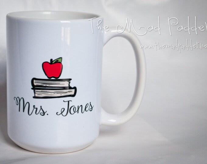 School Days 15 oz. Hot Beverage Mug - Custom Made