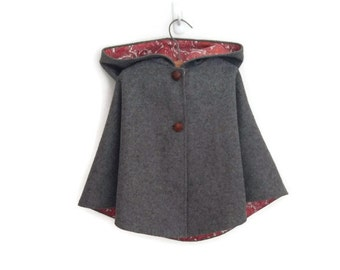 Child's Wool Cape