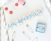 Wedding Planner Emergency Kit Bridal Garter, Something Blue Emergency Kit Wedding Garter, Something Blue - The Planner Garter by Garter Girl
