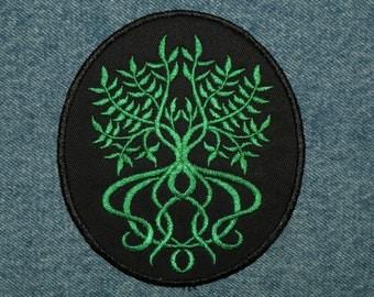 Elfin Tree of Life iron on patch