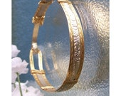 Sterling 14K Gold Filled Bangle Bracelet