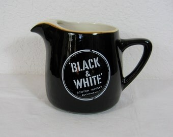 Black And White Scotch Whiskey Buchanan's Jug/Pitcher Made In Italy