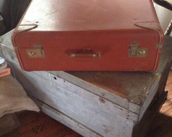 Vintage Vogue of California Suitcase Luggage