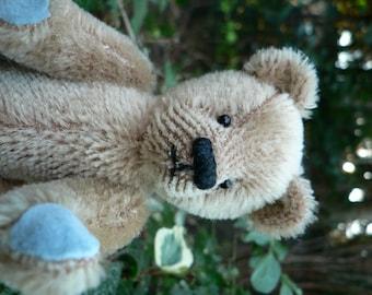 Clive OOAK Handmade Miniature Mohair Teddy Bear
