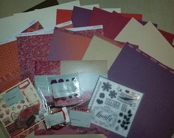 Close To My Heart Sangria Scrapbook Kit