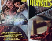 The Monkees, Meet the Monkees, Last Train to Clarksville, Vintage Vinyl Record, Music Memorabilia from 1966, Colgems Records COM-101