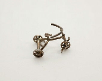 Vintage Sterling Movable Tricycle Charm