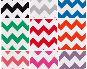 Chevron Oilcloth By The Yard
