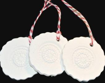 Ceramic Gift Tag or Ornament No7