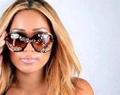 Emmanuel Vaughn's Bejeweled - jewels - shiny - big round sunglasses - custom - personalized - fashion - dope -stylish - rhinestone