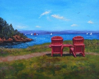 Red Chair Afternoon