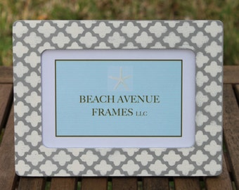 Moroccan Print Picture Frame
