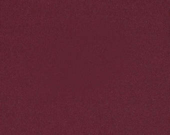 Burgundy 4 Way Stretch 8oz Rayon Spandex Jersey Knit Fabric, 1 Yard
