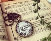 oh for grace to trust Him more hymn necklace