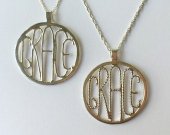 Handforged Grace Necklace