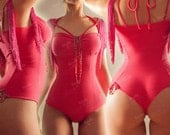 SALE - Fringe body - any cup size