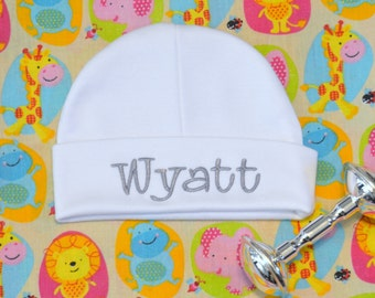 Baby Boy Hat Personalized Baby Boy Hat Newborn Baby Boy Hat Newborn Hat Baby Boy Clothes Infant Hat Baby Boy Beanie