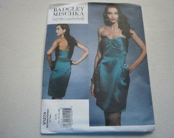 Pattern Women Dress Sizes 10 to 14 Vogue 1273 A