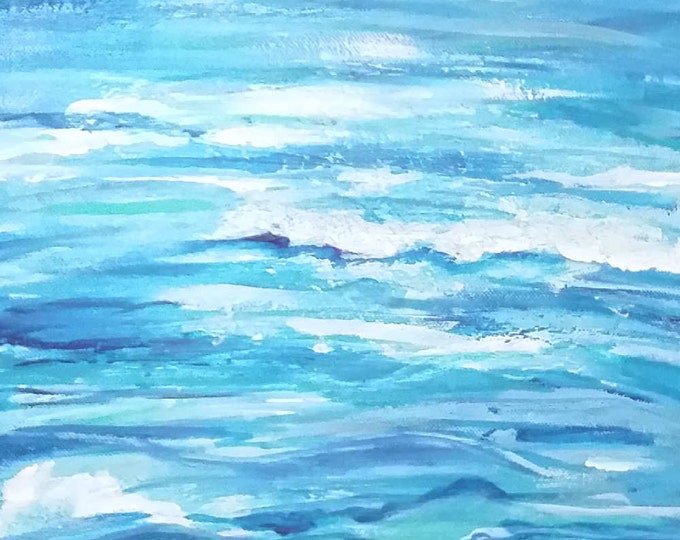 Ocean Waves Original Painting