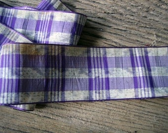 18 inches Victorian Antique Watered Rayon or Silk Ribbon Trim (Ref: A-4543/1 Box 1)