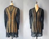 Victorian Jacket / Widow Walk Jacket / Antique Coat