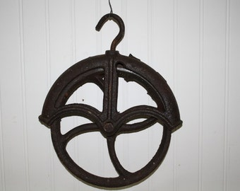 Vintage Well Pulley - item #2021