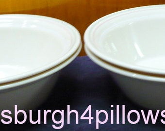 4 - Corelle - Spring Pond - Soup / Salad Bowls - 6 3/4 - EUC - Price Is For All
