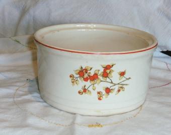 Vintage Universal Potteries Floral Dish