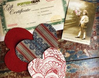 100.00 Gift Certificate Porteen Gear Camera Bag
