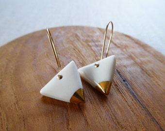 Triangle Hook Earrings