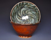 Pair of Miso Soup Bowls Pottery Bowl