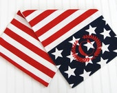 Patriotic Table Runner - Stars and Stripes - Red White and Blue - American Flag - Military Decor - Memorial Day Decor - 4th of July Decor