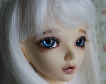 BJD eyes Doll eyes Hand Made available in 12/14/16/18/20/22/24mm Blue Monday  made to order