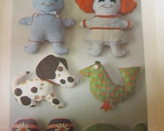 1969 Vintage Stuff Toy  Pattern